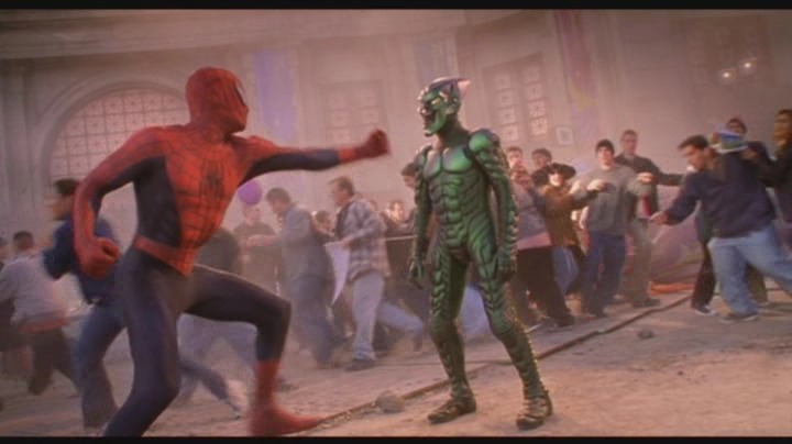 Spiderman y Duende Verde