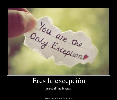 excepcion