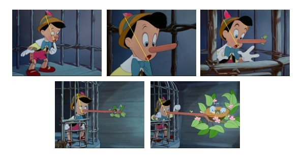 Nariz de Pinocho