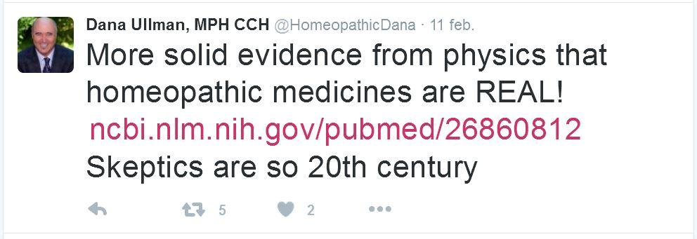 Homeopatía y absorbancia 1