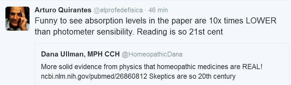 Homeopatía y absorbancia 4
