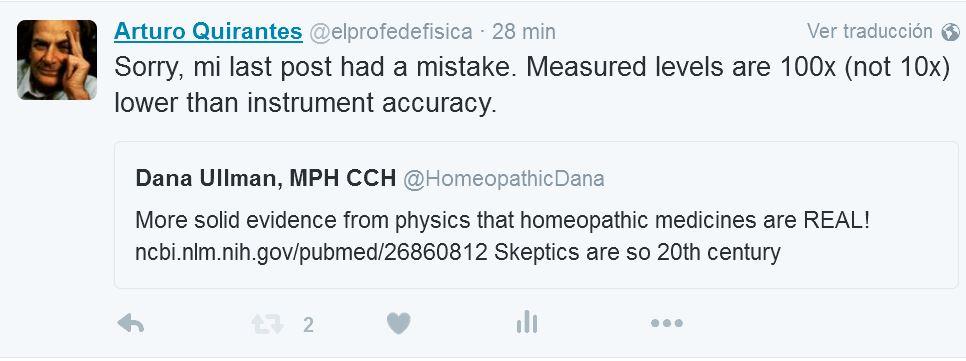 Homeopatía y absorbancia 5