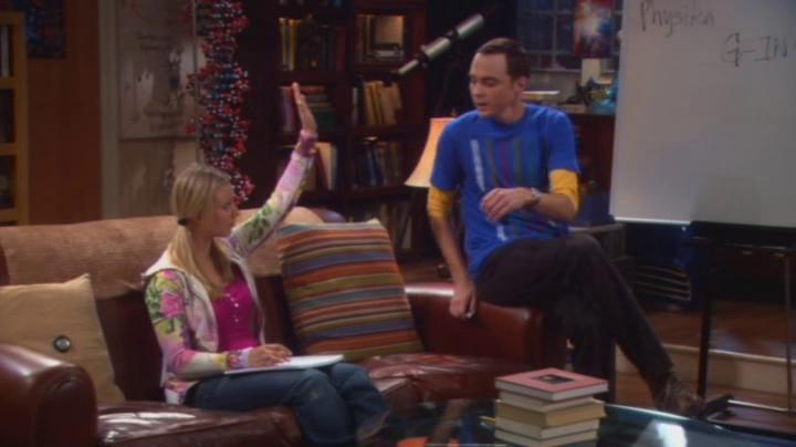 Penny y Sheldon