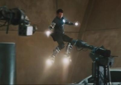Botas voladoras - Iron Man
