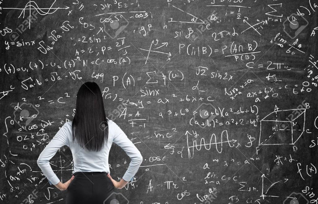 Mujer matemática