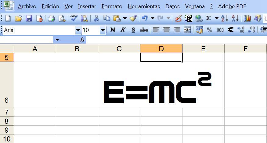 Física con Excel