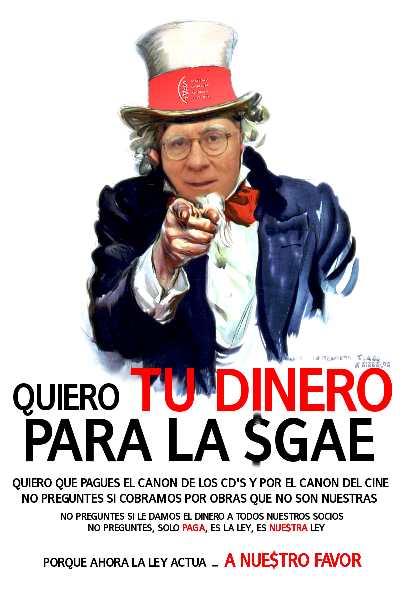 I want you for SGAE