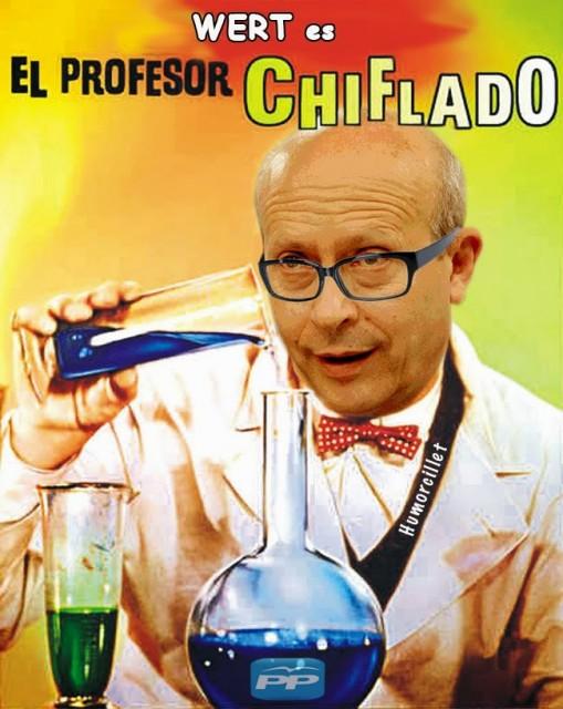 Profesor chiflado Wert