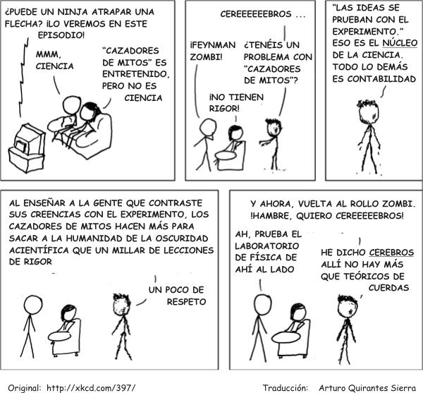 Zombis cum laude: Richard Feynman