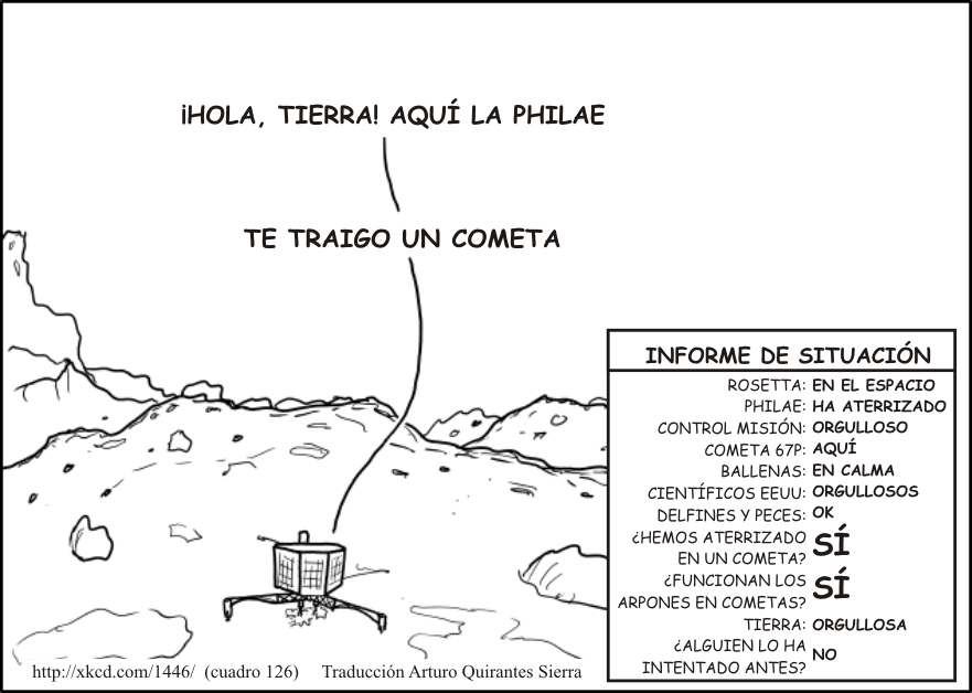Philae xkcd ESP
