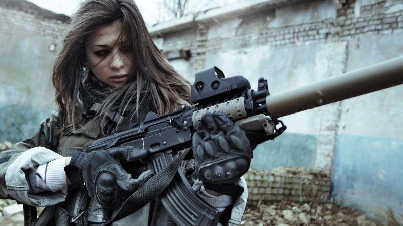 francotiradora