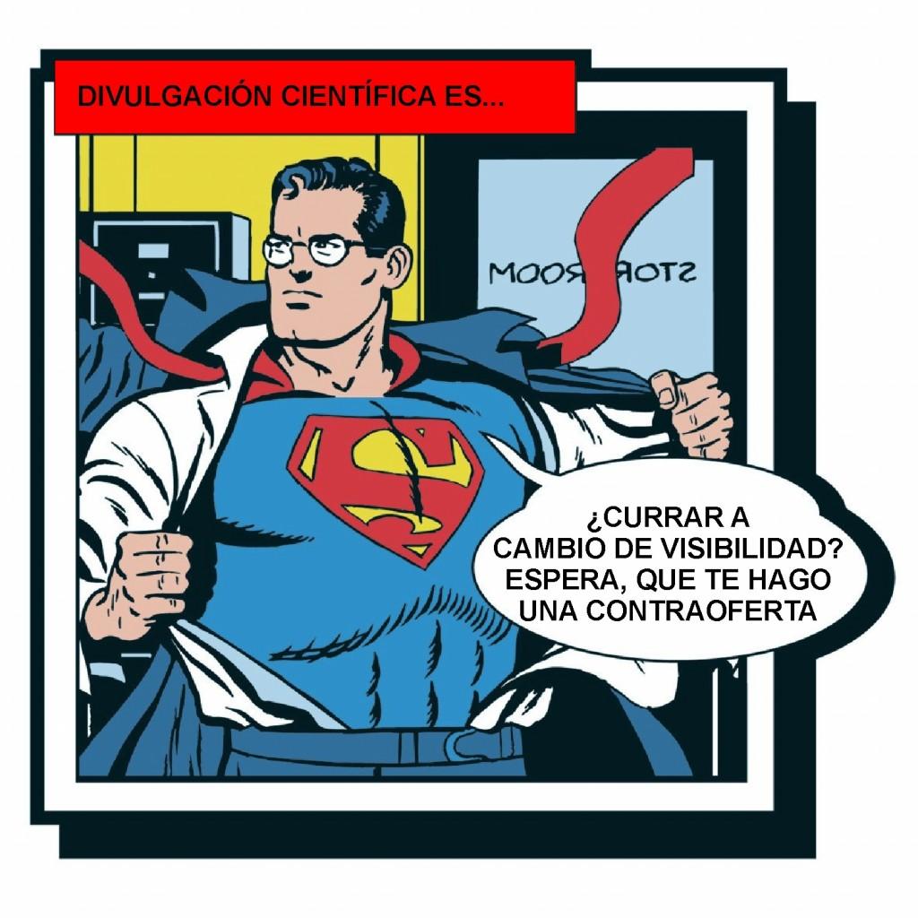 Superman y la visibilidad