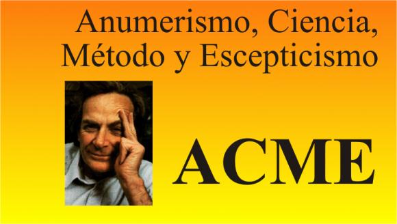 Vuelve el curso ACME sobre método científico, escepticismo y anumerismo