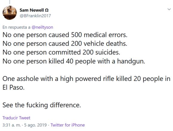 El peor tuit de Neil deGrasse Tyson